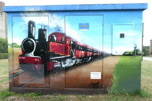 Le petit train de Froissy- Photo: Joël Hennebicque