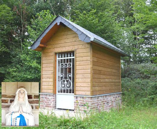Fresnoy-au-Val: une chapelle reconstuite en 2018