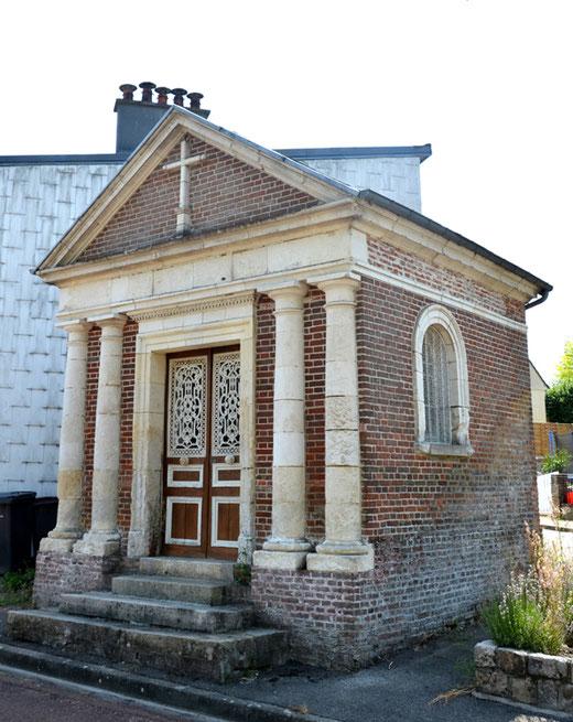 Liomer: chapelle Notre-Dame du Bon Secours
