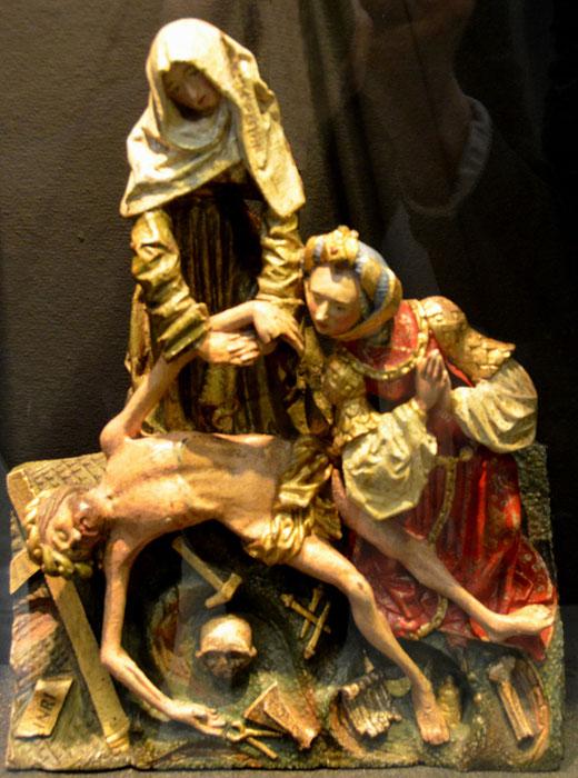 La Vierge de déposition du Musée d'Abbeville