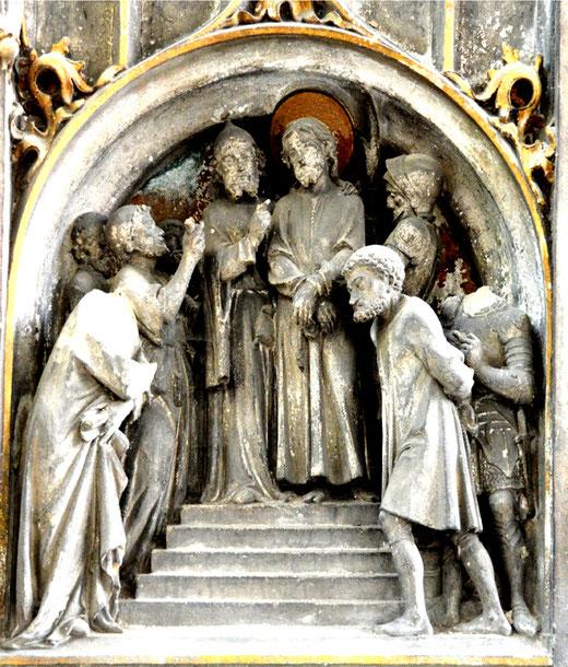 Le Christ présenté au peuple: l'Ecce-Homo (voici l'Homme)