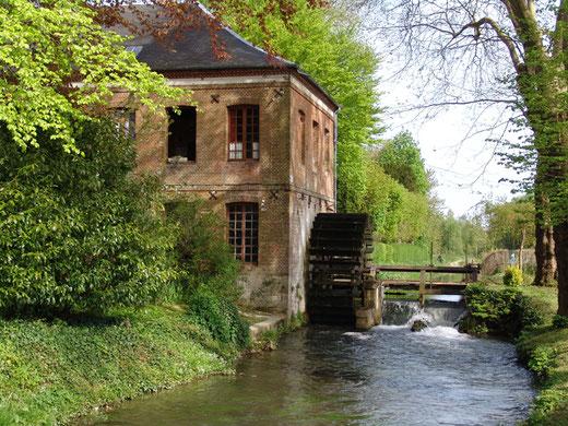 Le moulin Hottineaux à Blangy, à quelques pas du département de la Somme