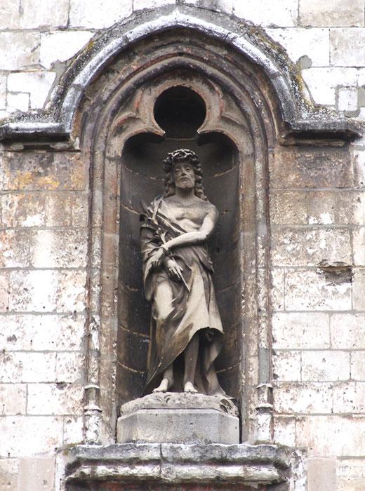 Eglise Saint-Sépulcre d'Abbeville-Façade latérale