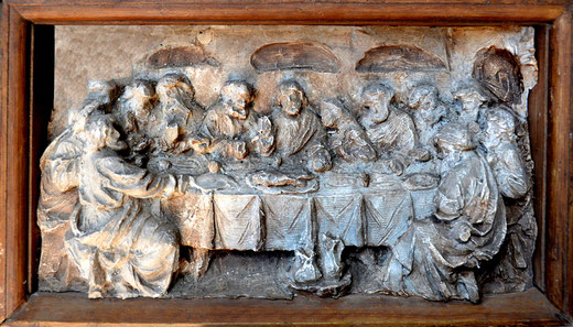 """""""La Cène"""", sculpture des frères Duthoit"""
