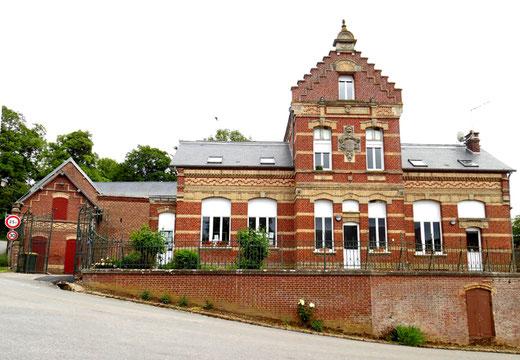 Mairie de Bergicourt- Photo: Gégé d'Oisemont