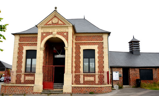 L'ancienne école de Cerisy-Gailly