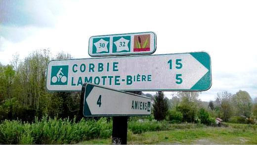 Entre Amiens et Corbie