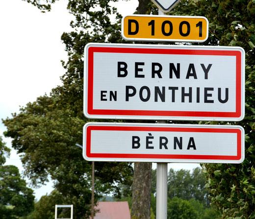 Bernay-en-Ponthieu: Bérna en picard