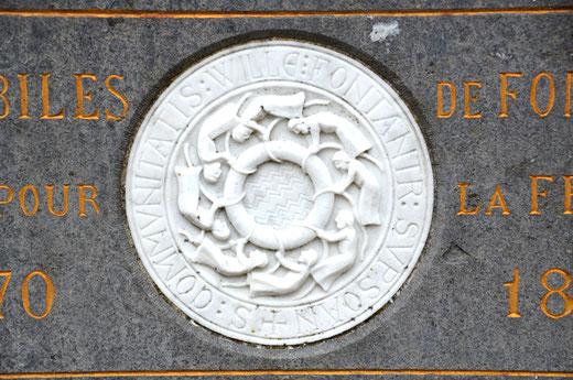 Le sceau du village de Fontaine-sur-Somme