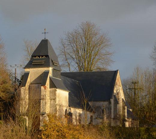L'église Sainte-Marie-Madeleine de Montrelet