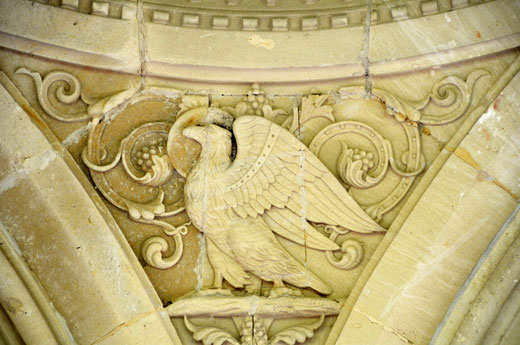 L'aigle pour Saint Jean