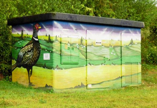 Fresque EDF à Molliens-Dreuil- Photo: Gégé d'Oisemont