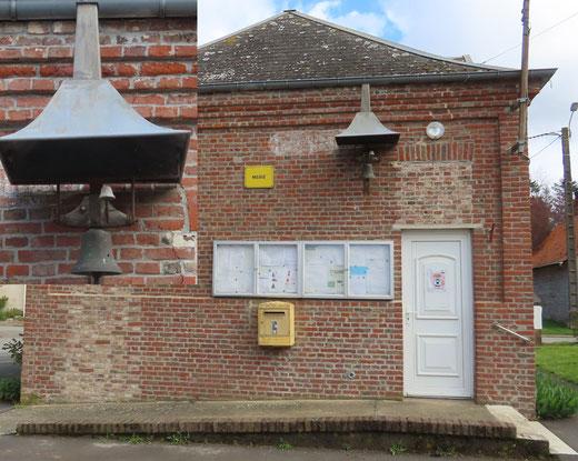 La mairie d'Ergnies- Photo: Jacques Fouré