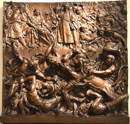 Les arènes d'Arles au Musée de Picardie à Amiens- 1833