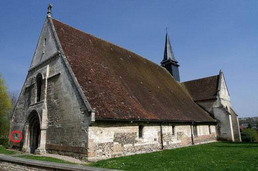 Airaines: église Notre-Dame du Prieuré- Photo: Claude Deroletz
