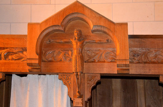 Christ dessiné par Gérard Ansart