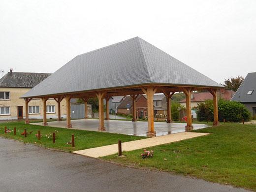 Les Halles de Courcelles-sous-Moyencourt- Photo: Gégé d'Oisemont