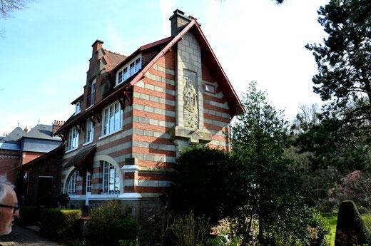 Villa la Gribane, quai Romerel à St-Valery-sur-Somme