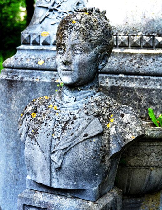 Le buste d'Amélie Lambert