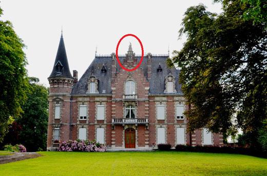 Le château de Baizieux et sa licorne