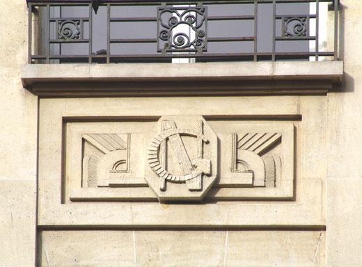 Le logo des Nouvelles Galeries (1950)