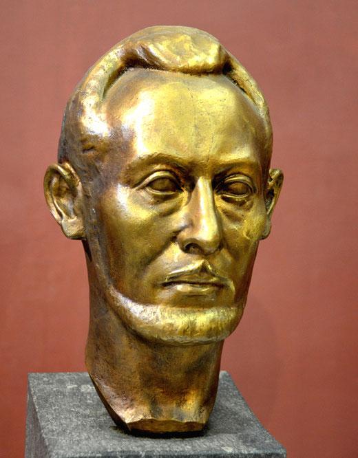 Auto portrait de Léon LAMOTTE