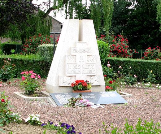 Monument aux Morts de Coullemelle