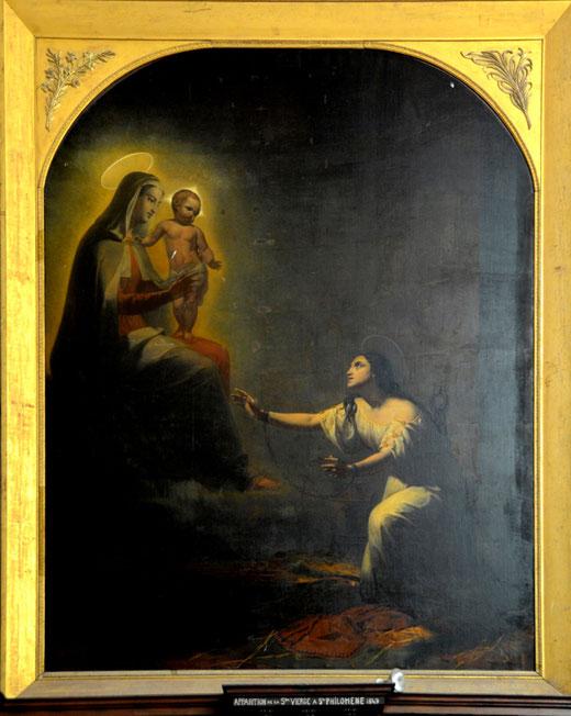 """""""L'apparition de la Sainte-Vierge à sainte Philomène- Saint-Riquier"""