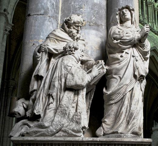 Monument funéraire du chanoine Antoine Niquet attribué à Blasset