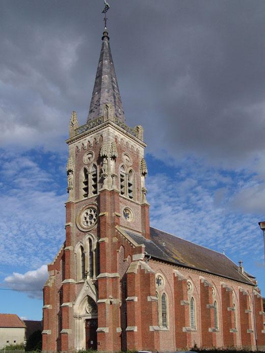 L'église Saint-Pierre de Fleury