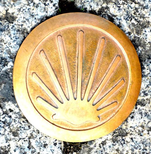 La cèlèbre coquille du pèlerin de Saint-Jacques de Compostelle
