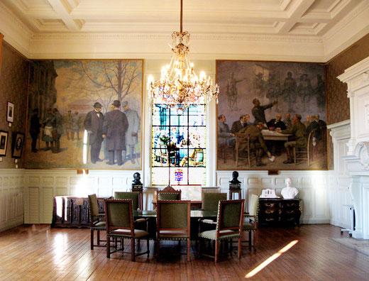 La salle du Commandement unique- Hôtel de Ville de Doullens