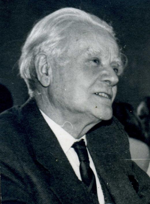 Marius Giot- Portrait réalisé trois ans avant son décès