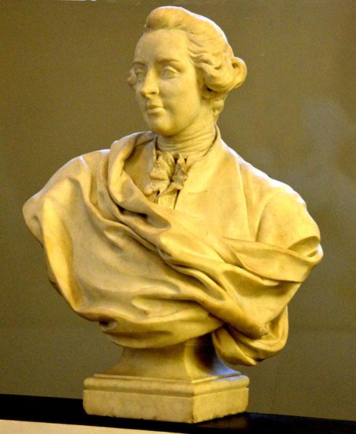 Buste de Jean-Baptiste Gresset, académicien (1709-1777)