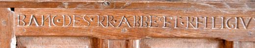 Banc des révérends abbés et religieux ....