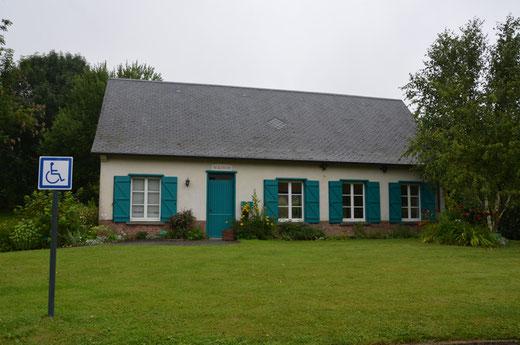 La maison d'habitation devenue Mairie