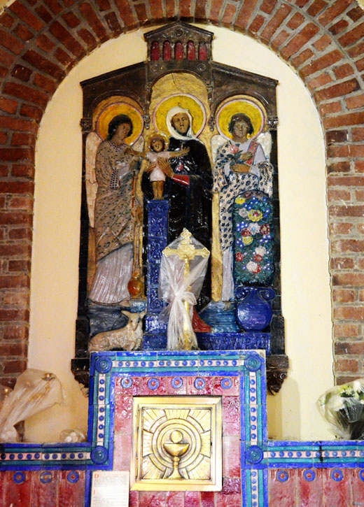 Autel principal- Eglise d'Irles