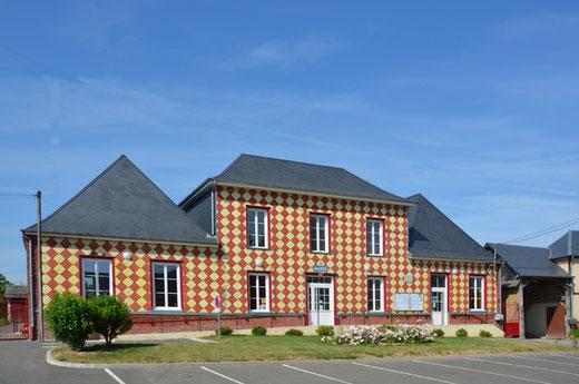 La mairie d'Hescamps