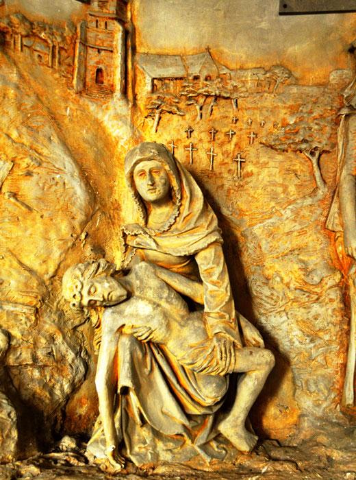 Vierge de Pitié- Eglise Saint-Martin d'Etelfay