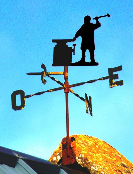 La girouette du forgeron à Eterpigny