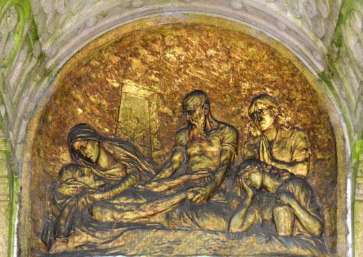 Une somptueuse mise au tombeau à quatre personnages