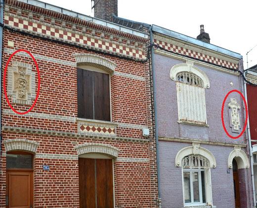 203 et 205 rue Wulfran Warmé- Amiens.