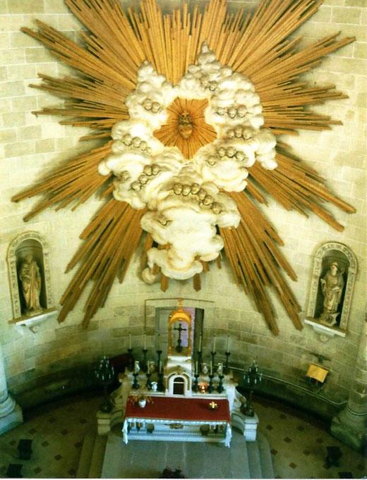 Gloire dans l'église de Grivesnes- Photo: Rémy Godbert