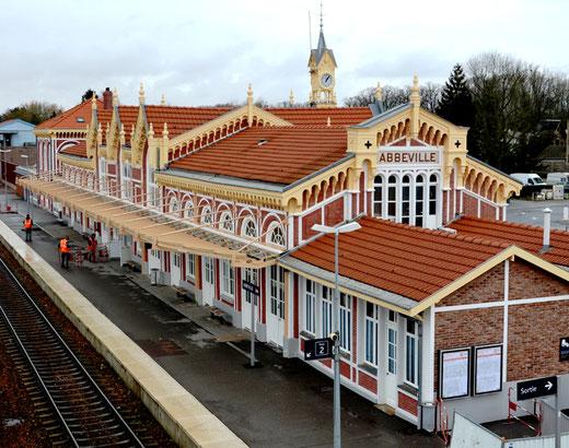 La gare d'Abbeville