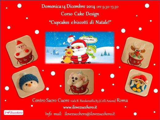 Corso Di Cake Design Gratuito Roma : Corso Cake Design Natale 2014 a Roma - Ilovezucchero sito ...