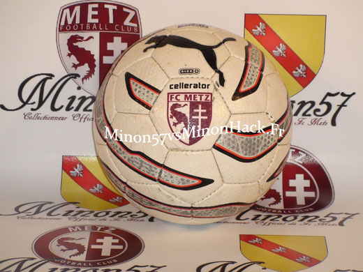 Ballon OFFICIEL du Fc Metz Saison 2005/2006
