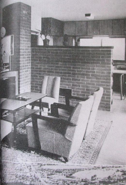 【写真11】ペチカのある寒冷住宅(『北海道百年記念写真集 北海道』 1968年)