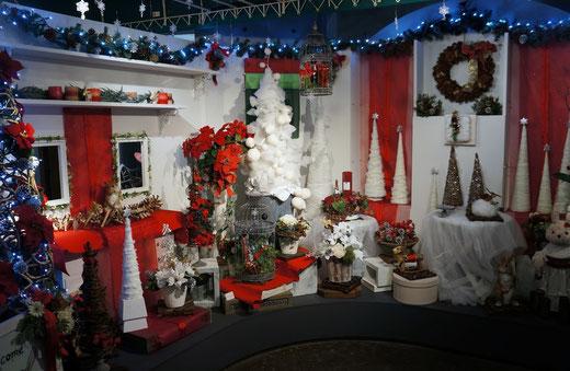 うさぎの花屋 クリスマス
