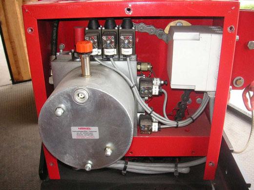Hydraulikaggregat der Seilwinde P12