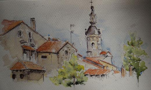 Eglise de Fontarrabie